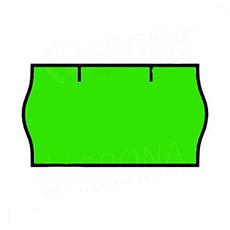 Etikety do kliešti, CONTACT 22 x 12, zelené