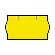 Etikety do kliešti, CONTACT 22 x 12, žlté