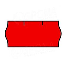 Etikety do kliešti, CONTACT 26 x 12, červené