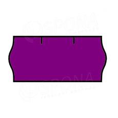 Etikety do kliešti, CONTACT 26 x 12, fialové