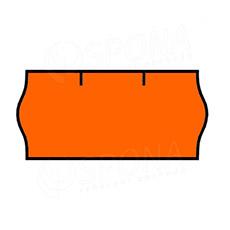 Etikety do kliešti, CONTACT 26 x 12, oranžové