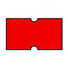 Etikety do klieští COLA-PLY, rovné, 22 x 12 mm, červené