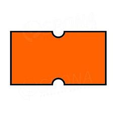 Etikety do klieští COLA-PLY, rovné, 22 x 12 mm, oranžové