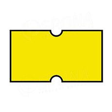 Etikety do klieští COLA-PLY, rovné, 22 x 12 mm, žlté