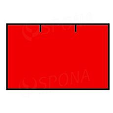 Etikety do klieští CONTACT, rovné, 25 x 16 mm, červené