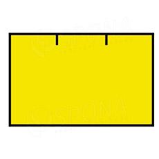 Etikety do kliešti, CONTACT 25 x 16, rovné, žlté