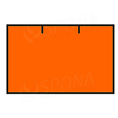 Etikety do klieští CONTACT, rovné, 25 x 16 mm, oranžové