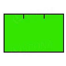 Etikety do kliešti, CONTACT 25 x 16, rovné, zelené
