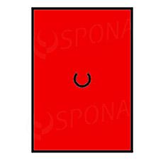 Etikety do klieští MOTEX, rovné, 16 x 23 mm, červené