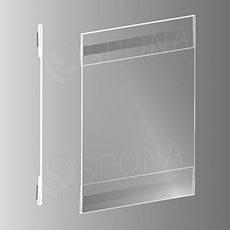 Magnetické plagátové vrecko typ C vertikálne, formát A3, antireflexné PVC