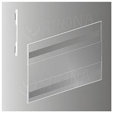 Magnetické plagátové vrecko typ C horizontálne, formát A5, antireflexné PVC