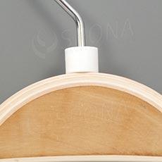 Minireitery bez tlače, 25 ks, biele