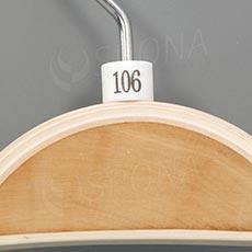 Minireitery 106, 25 ks, biele