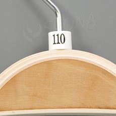 Minireitery 110, 25 ks, biele