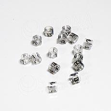 Minireitery XXS, 25 ks, transparentné