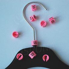 Minireitery XS, 25 ks, ružové