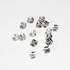 Minireitery L, 25 ks, transparentné