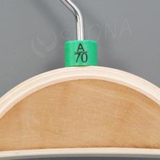 Minireitery podprsenkové, A/70, 25 ks, zelené