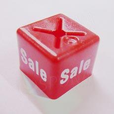Minireitery SALE štvorec, červené