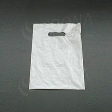 Taška LDPE 25 x 35 cm, biela