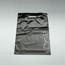 Taška LDPE 35 x 50 + 5, čierna