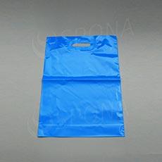 Taška LDPE 35 x 50 + 5 cm, svetlo modrá
