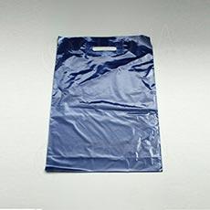Taška LDPE 35 x 50 + 5 cm, tmavo modrá
