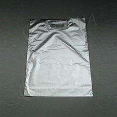Taška LDPE 35 x 50 + 5 cm, strieborná