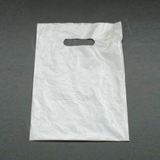 Taška LDPE 35 x 46 + 5 cm, biela