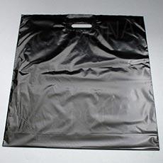 Taška LDPE 55 x 55 + 5 cm, čierna