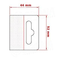HANG háčik BEST na EURO závesy, 52 x 44 mm