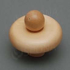 Kŕčok k panne drevený veľkosť 38, nízky, svetlý