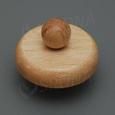 Kŕčok k panne ELITE drevený veľkosť 42, nízky, svetlý