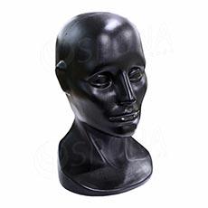 Hlava LEO plastová, čierna