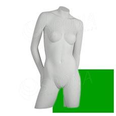 Busta COLOR dámska, typ 3, zelená