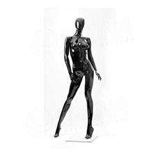Figurína dámska Portobelle 164G, abstraktná lesklá čierna