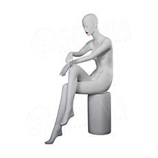 Figurína dámska Portobelle 298, matná biela