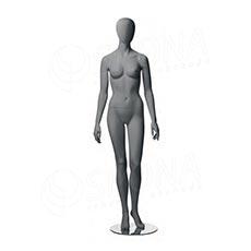 Figurína dámska CITY 01, matná šedá