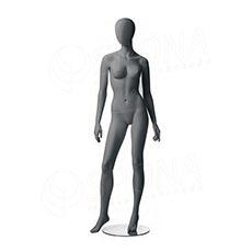 Figurína dámska CITY 02, matná šedá