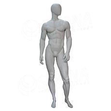 Figurína pánska FLASH na fotenie, matná biela
