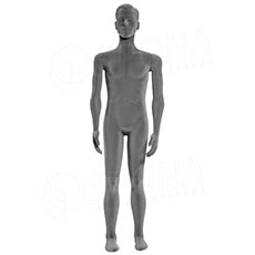 Figurína pánska FLEXIBLE, prelis, šedá, flok