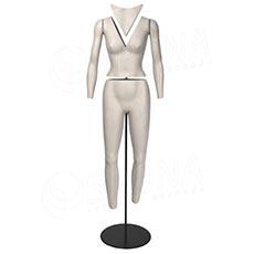 Figurína INVISIBLE na fotenie, žena