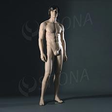 Figurína pánska VISION DAYDREAM DA2000W8, bez parochne, telová farba, podstavec