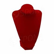 Stojanček na šperky, DEKOLT červený, 24 cm