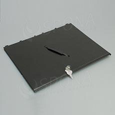 Pokladničný kryt pre insert EC 410, kov