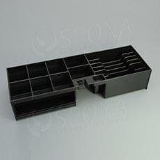 Pokladničný insert do pokladni FLIP TOP, 6B/8M, plast