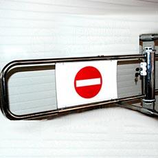 ALKAFIX pokladničná závora , 90 cm