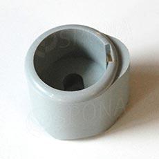 ALKAFIX plastová koncovka pre priemer 38 cm, šedá