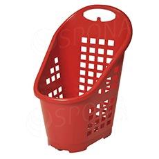 Košík nákupný Flexicart, objem 65 l, červený