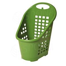 Košík nákupný Flexicart, objem 65 l, zelený